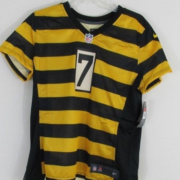 low priced ae531 6a0a1 Nike Ben Roethlisberger Women's Throwback Jersey NWT